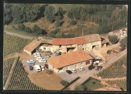 CPA Beaujolais, Villages, Vue Generale Aerienne - France