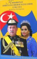 Malaysia 2015 Nordic COIN BU  SULTAN JOHORE CORONATION - Malaysia