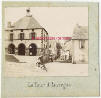 En 1893-joli Coin De La Tour D'Auvergne (63)-photo Albuminée Sur Carton - Anciennes (Av. 1900)