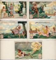 Liebig 1927 Sanguinetti N. 1197 Odissea  (Italia) Serie € 14 - Liebig