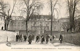 CPA- PLOMBIERES-les-DIJON (21) - Vue De La Nouvelle Caserne Dans L'ancien Séminaire - Other Municipalities