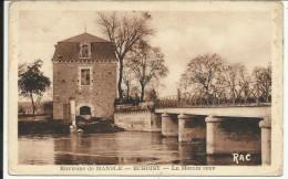 ECHOISY , Le Moulin Neuf , Environs De MANSLE , 1953 - Otros Municipios