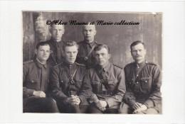 1941 - SOLDATS RUSSES - PHOTO MILITAIRE 11 X 8 CM - Guerre, Militaire