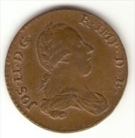 Pays-bas Autrichien - 2 Liard Oord  1789 - RARE TTB+ - Oostenrijkse Nederlanden - Austrian Netherlands - Joseph II - Belgique