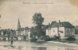 ARGENTON SUR CREUSE - Le Moulin De Bord Et Le Vieux Pont (cachet Militaire Au Dos) - Autres Communes
