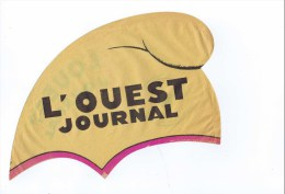 CAGOULE EN PAPIER L OUEST JOURNAL - Caps