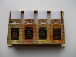 - Coffret De 4 Flacons De Parfum. Fragonard. France - - Perfume Miniatures