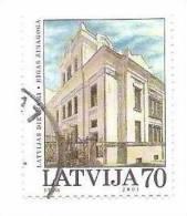 Latvia / Lettonia Jewish Sinagog 2001  Used STAMP (O) - Lettonie