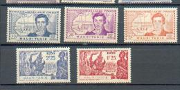 MAU 278 - YT 95 à 99 * - Mauritanien (1906-1944)