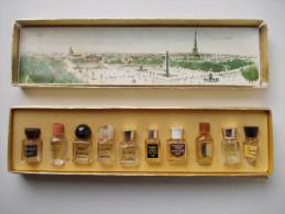 - Coffret De 10 Flacons De Parfum. Les Meilleurs Parfums De Paris - - Perfume Miniatures