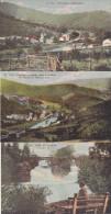 Vallée De L'Amblève - Lot De 6 Cartes (animée, Colorisée, Photo Belge Lumière) - Trois-Ponts