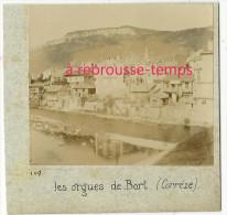 En 1893-les Orgues De Bort En Corrèze-photo Albuminée Collée Sur Carton - Photographs