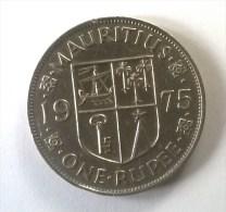 Monnaies - Maurice - 1 Rupee 1975 - Superbe - - Maurice