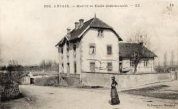 Saone Et Loire : CP ARTAIX : Artaix - Mairie Et Ecole Communale TB Etat - Other Municipalities