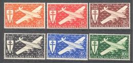 Inde: Yvert 1/6; 6 Valeurs - India (1892-1954)