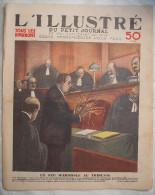 """L'ILLUSTRE Du """"PETIT JOURNAL"""":1933:UN FEU D'ARTIFICE AU TRIBUNAL..GERGOVIE.L'ECOLE DES BETES..SUPPLEMENT AGRICOLE..Etc.. - Andere"""