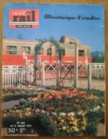 La Vie du Rail n� 406 13 Juillet 1953 Montaigu Vend�e
