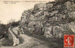 CPA- Environs De COURCAY (37) - Vue Du Chemin Du Moulin Au Village De La Doué En 1907 - France