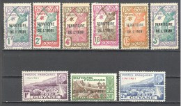 Inini: Entre Yvert 1/58; 9 Valeurs - Inini (1932-1947)