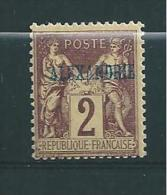 Colonie  Timbre D´Alexandrie  Type Sage  N°2 Neuf * - Neufs
