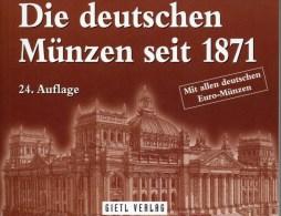 Münzen-Katalog Deutschland 2016 Neu 25€ Jäger Für Münzen Ab 1871 Und Numisbriefe Numismatic Coins Of Old And New Germany - Etains