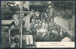 Japan Yokohama Temple Funeral Procession Postcard - Yokohama