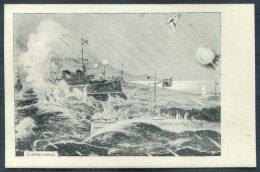 1904=5 Japan Russia, Russo Japanese War Navel Ship Postcard - Militaria