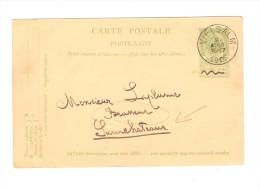 Entier CP 23 C.Vielsalm 8/8/1905 V.Brasseur à Samchateaux Commande Et Transport De 2 Tonneaux PR2419 - Bières