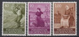 LIECHTENSTEIN - Michel - 1961 - Nr 411/13 - MNH** - Liechtenstein