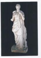 Beirut national Museum, Statue of Higeia Roman Goddess postcard Lebanon , carte postale Liban Libanon