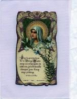 IMAGE RELIGIEUSE  QUE LA PROTECTION DE LA VIERGE VOUS ACCOMPAGNE - Devotion Images