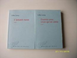 2 Romans De Gilles LEROY TTBE - Lotti E Stock Libri