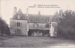 Au - Cpa LOUISFERT (44) - Château De Caratel, Côté De La Cour - Francia