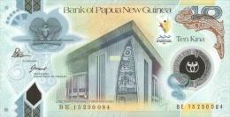 PAPUA NEW GUINEA P. 48 10 K 2015 UNC - Papua Nuova Guinea