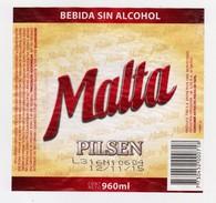 ® MALTA PILSEN (Uruguay) 960ml. - Beer