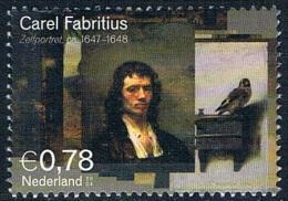 """Pays-Bas - """"Autoportrait"""" De Carel Fabritius 2170 (année 2012) Oblit. - Oblitérés"""