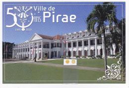 Polynésie Française / Tahiti - Carte Postale Prétimbrée à Poster  / Juillet 2015 - Ville De Pirae - Polinesia Francesa
