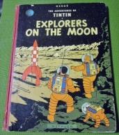 The Adventures Of Tintin :  Explorers Of The Moon EO Anglaise 1959 BE - Boeken, Tijdschriften, Stripverhalen