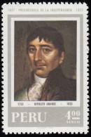 PERU - Scott #C318  Hipolito Unanue / Mint H Stamp - Peru