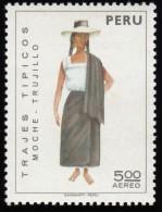 PERU - Scott #C346A Provincial Costume / Mint LH Stamp - Peru