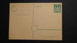 Germany - Allied Occupation - 1948 - MI: P 2 I* - Postal Stationary - Look Sca - Bizone