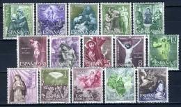 1962 - SPAGNA - ESPAÑA - SPAIN - Mi.  1355/1369 - NH - (X28112015....) - 1961-70 Unused Stamps