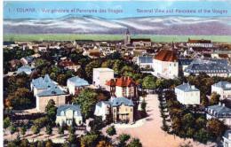Cpa Chromo 1923,  COLMAR, Vue Générale, Panorama Sur Les Vosges,   (39.52) - Colmar
