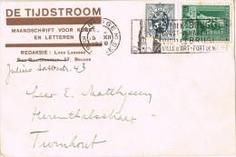 15797. Tarjeta Privada BRUGGE (Belgien) 1930. Flamme Ville D'Art - Bélgica