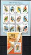 Guyana 1994 SC 2858-2861 MNH Birds - Guyana (1966-...)