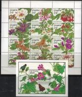 Guyana 1994 SC 2789-2792 MNH Flowers - Guyana (1966-...)