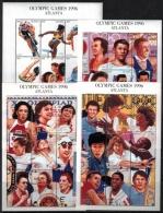 Guyana 1996 SC 3079-3089 MNH Olympics - Guyana (1966-...)