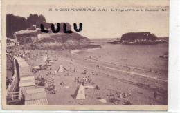 DEPT 22 : Saint Quay-Portrieux , La Plage Et L Ile De La Comtesse - Saint-Quay-Portrieux
