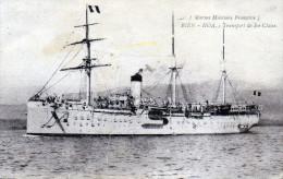 Cpa 1920, Navire De Transport De 1ère Classe BIEN HOA, Marine Militaire Française  (39.95) - Militaria