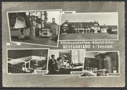 "Germany,  Neufahrland, Sanatorium ""Heinrich Heine"", Multi View, 1964. - Neu Fahrland"